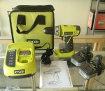 Ryobi 1/2 in. 14.4-Volt Cordless Compact Drill Kit